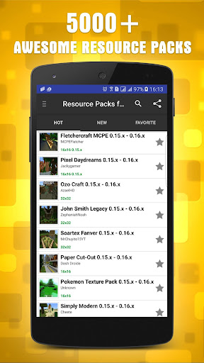 Resources Packs for Minecraft 1.10.2 screenshots 1