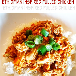 Ethiopian Inspired Chicken – Slow Cooker, Kid Approved