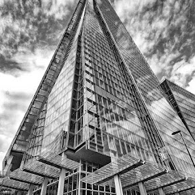 Reach for the sky by Bob White - Buildings & Architecture Office Buildings & Hotels ( modern, the shard, england, london, architecture, , #GARYFONGDRAMATICLIGHT, #WTFBOBDAVIS )