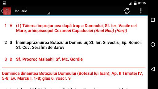 玩免費生活APP|下載Calendar Ortodox Romania 2015 app不用錢|硬是要APP