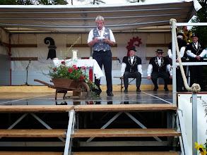 Photo: Fritz Jutzi Präsident VSV beider Basel eröffnet die Stubete