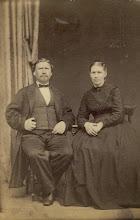 Photo: Baker O. P. Offenberg og hustru.