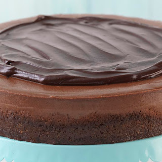 Divine Chocolate Velvet Cheesecake.