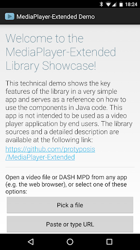 MediaPlayer-Extended Demo