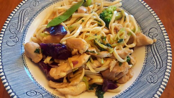 Simple Chicken Lomein Recipe