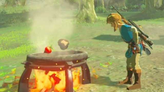 Cooking with Link Video for Legend of Zelda: Breath of the Wild