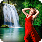 Live Waterfall Photo Frames