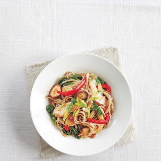 Chicken and Vegetable Soba Noodle Stir-Fry Recipe