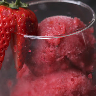 Fruit and Wine Sorbet