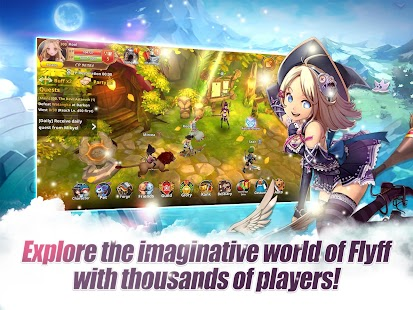 Flyff Legacy - Anime MMORPG- screenshot thumbnail