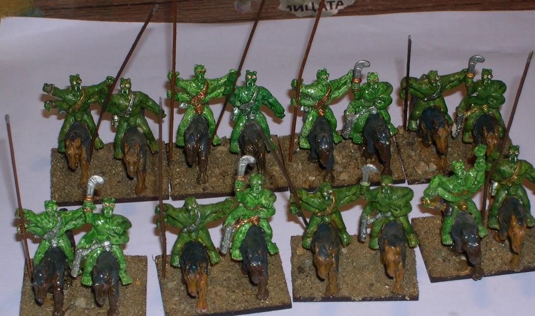 Green Martian Lancers