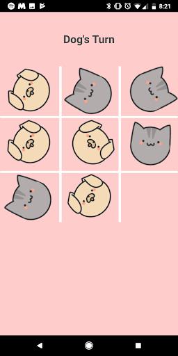 Cute Pet Tic Tac Toe