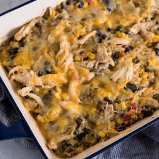 Four Can Mexican Casserole Recipe