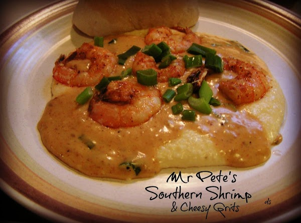Mr Pete's Southern Shrimp And Cheesy Grits Recipe