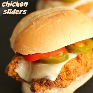 Spicy Chicken Sliders