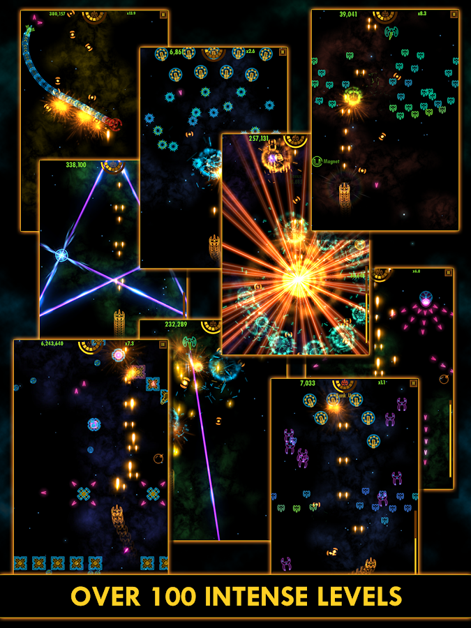 Plasma Sky - rad space shooter- screenshot