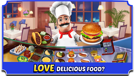 Food Court Fever: Hamburger 3 2.6.2 MOD (Unlimited Coins) 1