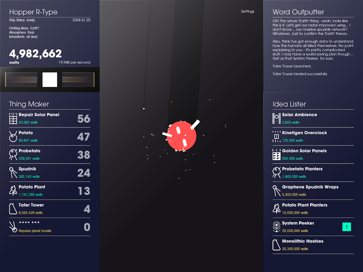 SPACEPLAN- screenshot