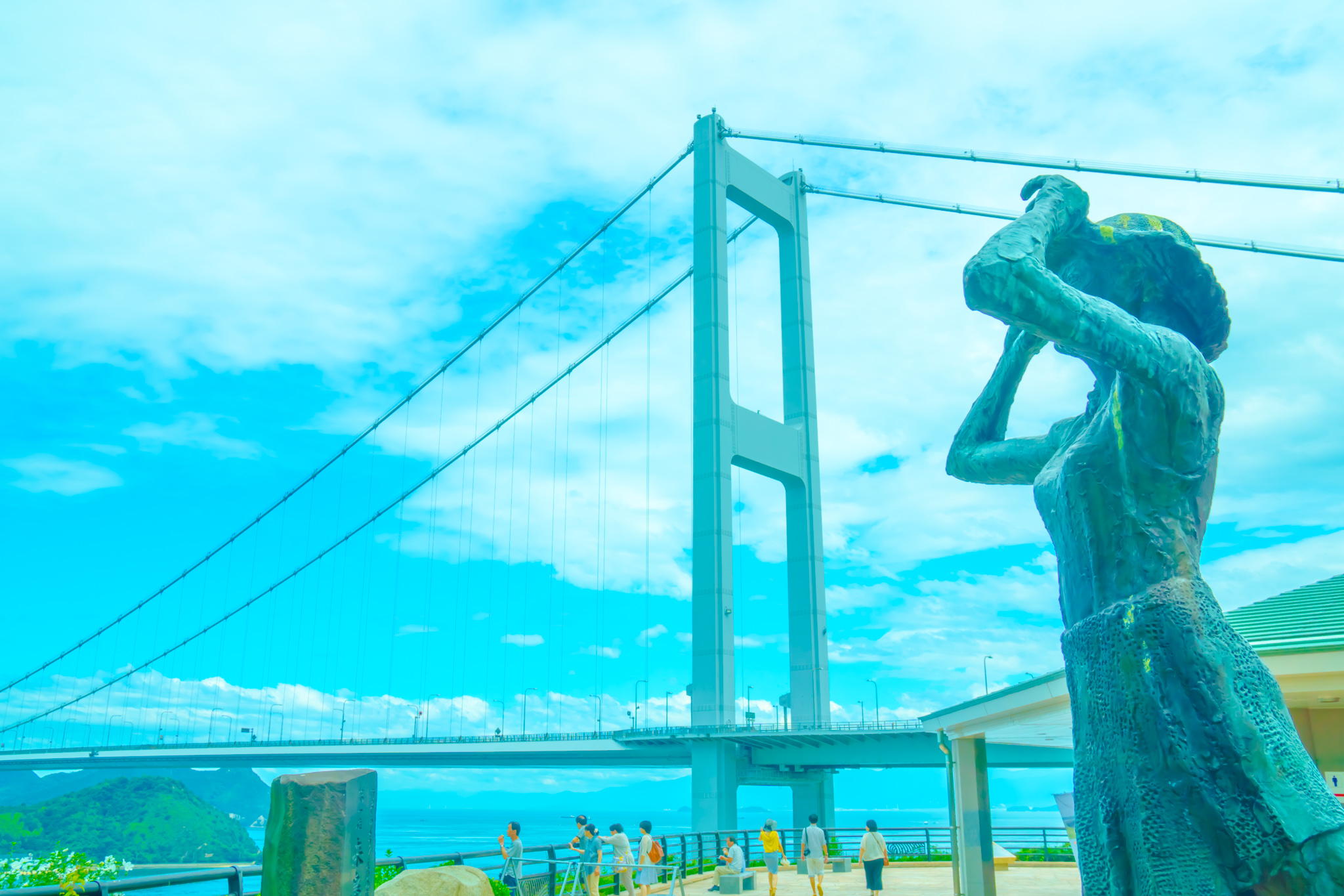 Shimanami Kaido Kurushima Kaikyo Bridge