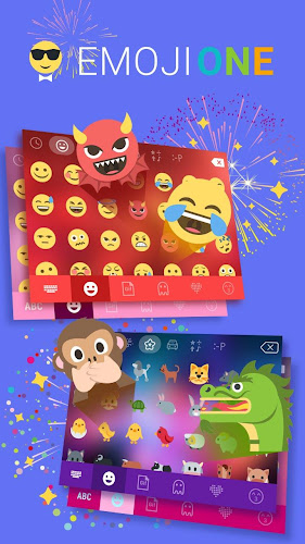 Emoji One Stickers for Chatting apps(Add Stickers) Android App Screenshot