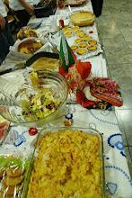 Photo: Viele Esswaren wurden angeboten