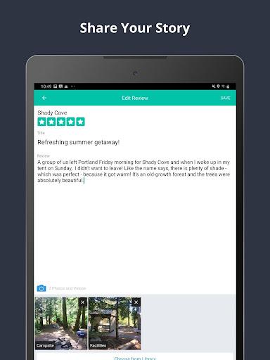 The Dyrt Camping App: Tent & RV Campsites Finder 3.1.36 screenshots 12