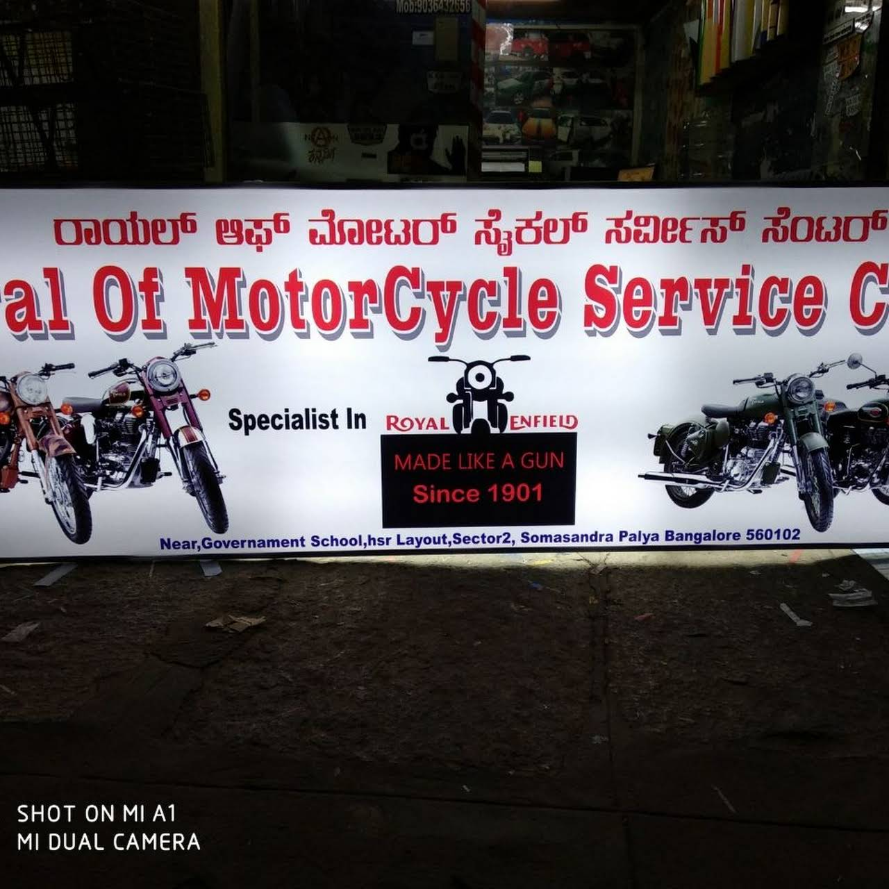ROYAL OF MOTORCYCLE - Royal ENFIELD WORK SHOP - Royal