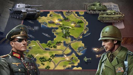Code Triche WW2: Strategy Commander Conquer Frontline APK MOD screenshots 4