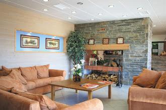 Photo: Salon d'accueil et réception de la résidence