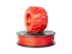Red PRO Series Flex - 1.75mm Flexible TPE (0.5kg)