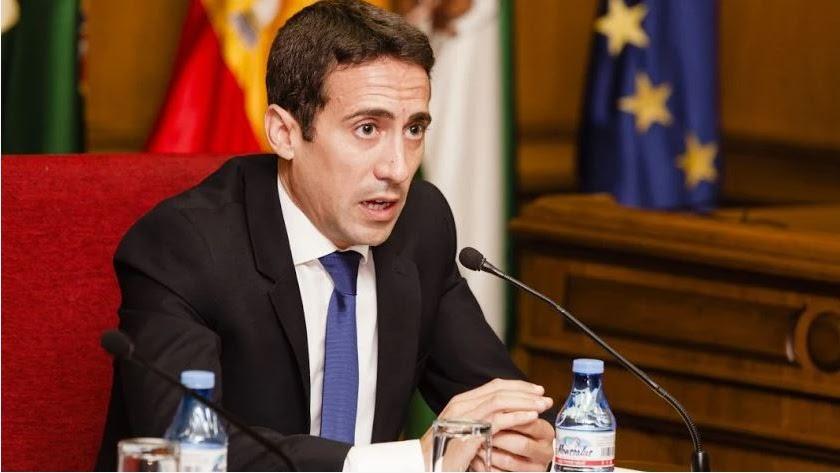 Óscar Liria, exvicepresidente de Diputación.