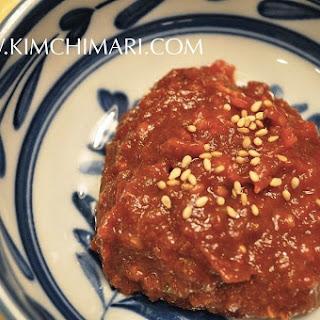 Ssamjang (condiment for Korean lettuce wrap)