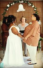 Photo: Same Sex Same Gender South Carolina Wedding Ceremony Officiant Minister Brenda M. Owen http://WeddingWoman.net