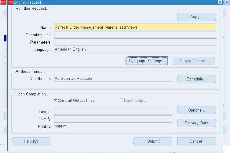 how to close the sales order in oracle apps