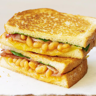 Baked Bean and Bacon Melts
