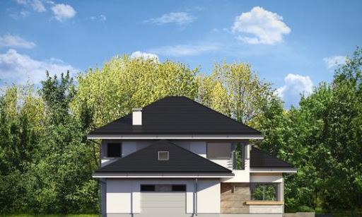 Dom z widokiem 2 - Elewacja lewa