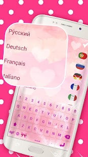 Pink Keyboard Emoticon & Emoji - náhled