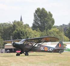Photo: Schaffen Fly in 2013 08 17 Piper L-18C Super Cub (PA-18-95) CN 18-3221 OL-L47 OO-SPG