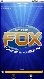 Web Rádio Fox: miniatura da captura de tela