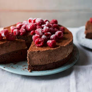 Celebration Chocolate Mousse Cake.