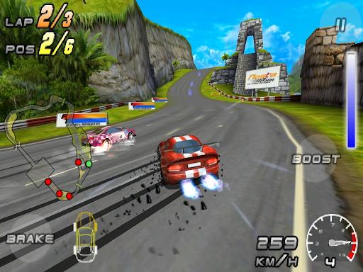 Raging Thunder 2 - FREE screenshot 7