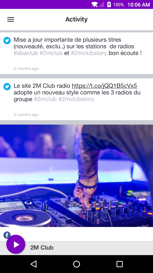 2M Club- screenshot