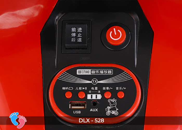 xe moto dien cho be DLX-528 16