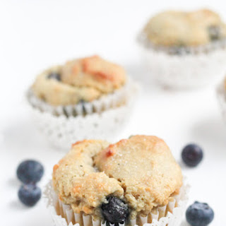 Gluten Free Blueberry Muffins (With Almond Flour).