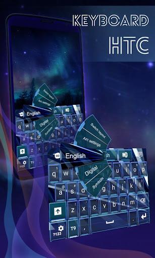 鍵盤的HTC Desire 500