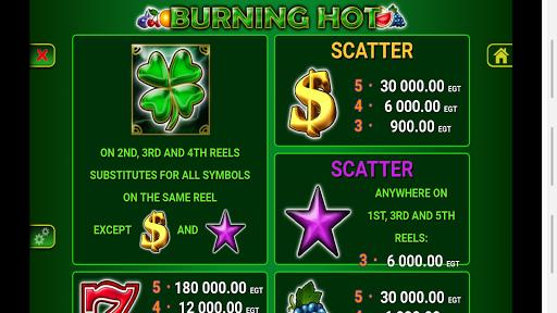 5 Burning Hot Slot android2mod screenshots 4