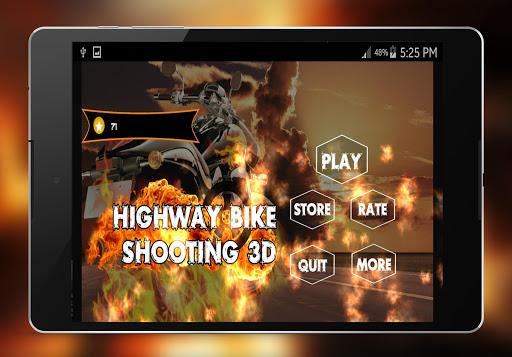 Highway Bike Shooting 3d