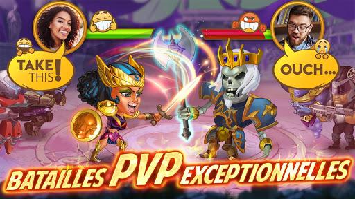 Code Triche Battle Arena: RPG avec des batailles u00e9piques APK MOD screenshots 5