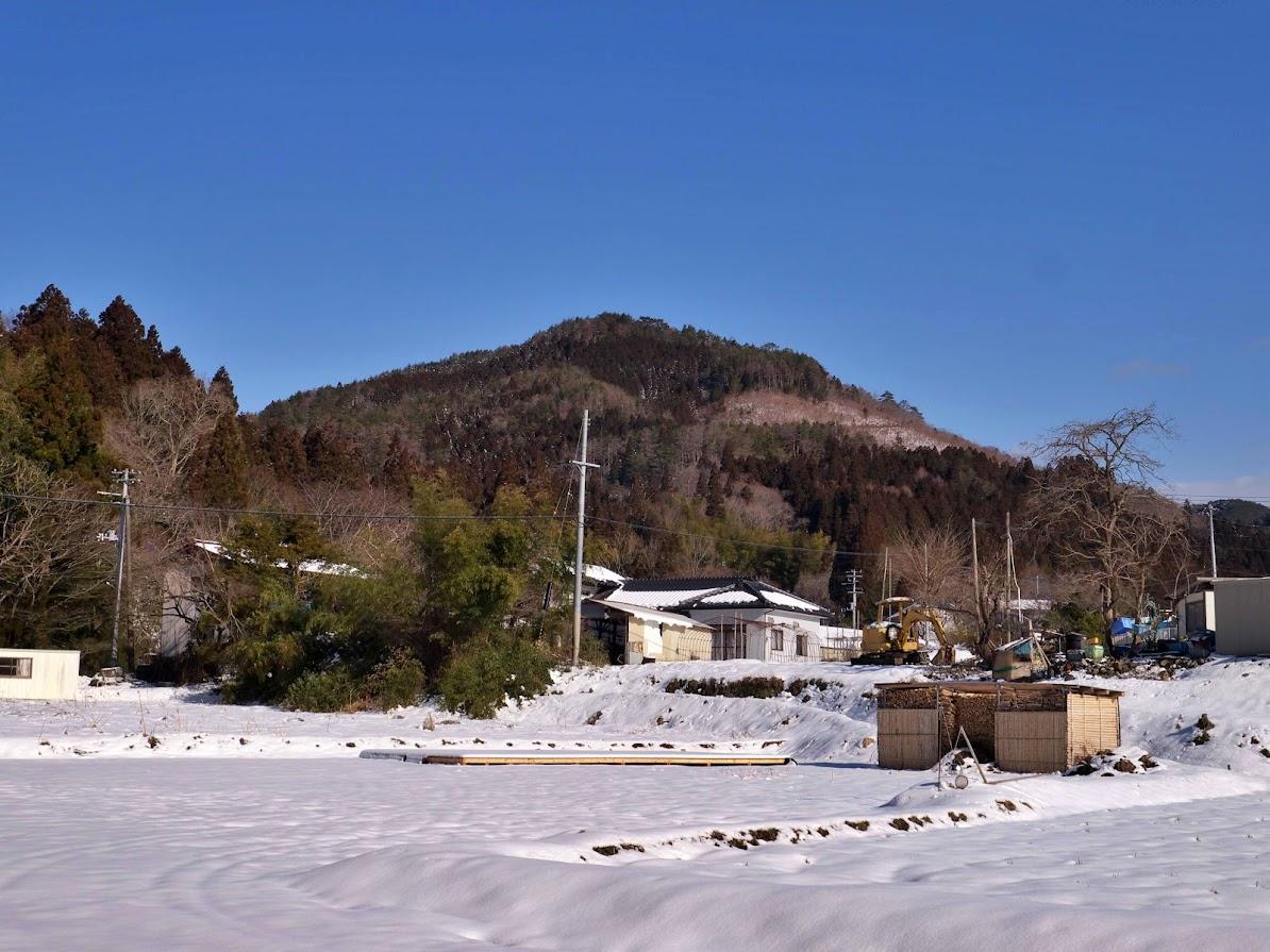 三峰山(みつみねさん)