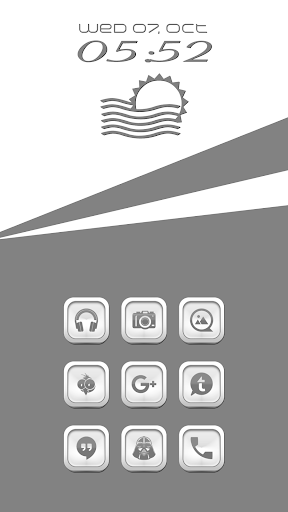 Tat Gray Icon Pack